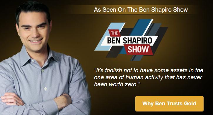 birch gold group endorsement from Ben Shapiro