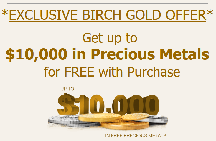 Birch Gold Promo
