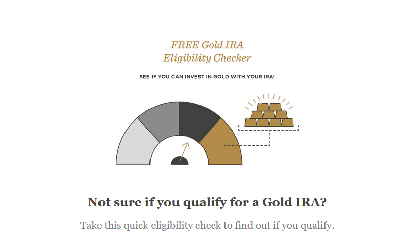 Gold IRA Eligibility quiz