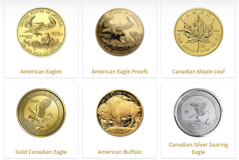 augusta gold ira coins